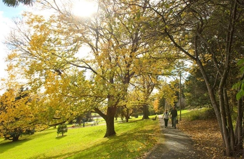 Burnie Park in Autumn